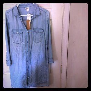 H&M Denim Dress NWT